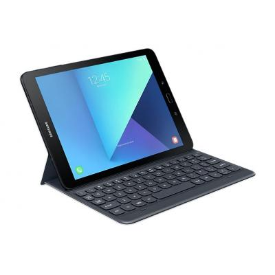 Samsung mobile device keyboard: Tab S3 - Keyboard, 277 g - Zwart, Grijs