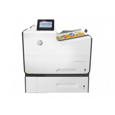 Hp laserprinter: PageWide Enterprise Color 556xh - Zwart, Cyaan, Magenta, Geel (Demo model)