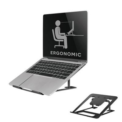 Neomounts by Newstar opvouwbare laptop stand Notebooksteun - Zwart