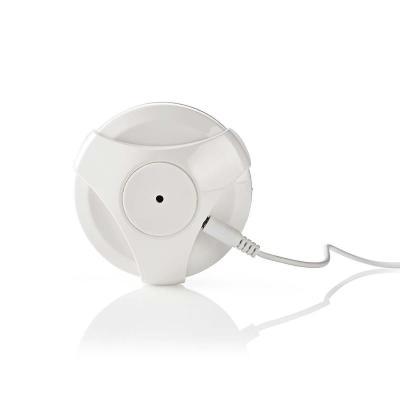 Nedis waterdetector: 20 dBm, 3 V, 2400 - 2483.5 MHz, 1x CR2, 2 dBi, Water, Wi-Fi, White - Wit