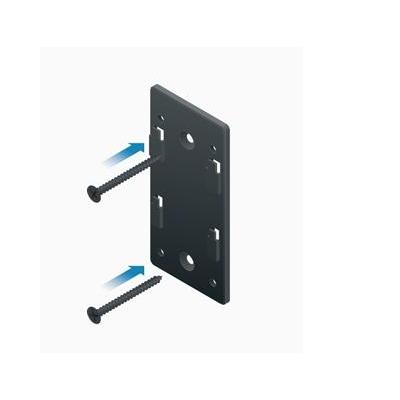 Ubiquiti networks montagekit: POE-WM, wall-mount bracket, black - Zwart