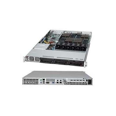 Supermicro 1042G-LTF Server barebone - Zwart