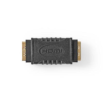 Nedis HDMI™-Adapter, HDMI™ Female - HDMI™ Female, Zwart Kabel adapter