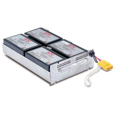 APC Batterij Vervangings Cartridge RBC22 UPS batterij - Zwart
