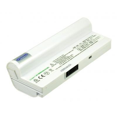 2-power batterij: CBI3026B - Li-Ion, 6900mAh, 7.4 V, 9 cell, 296g, white - Wit
