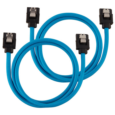 Corsair CC-8900255 ATA kabel - Zwart, Blauw