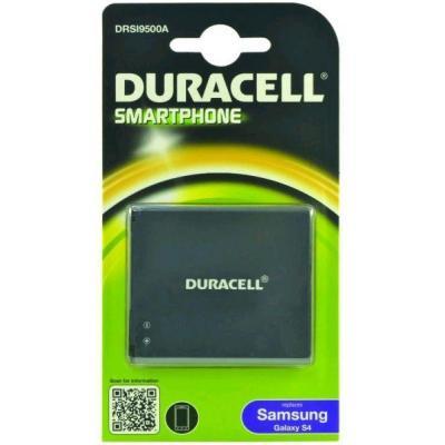 Duracell batterij: Battery 2550mAh for Samsung Galaxy S4 - Zwart