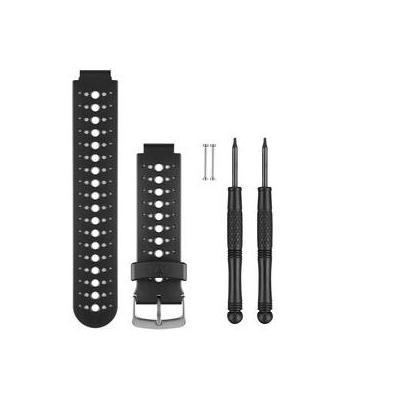 Garmin horloge-band: Watch Band, Black And Grey - Zwart, Grijs