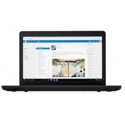 Lenovo laptop: ThinkPad E570 - Zwart, Zilver