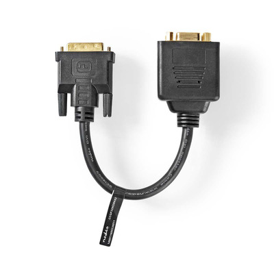 Nedis CCGP32952BK02 DVI kabel  - Zwart