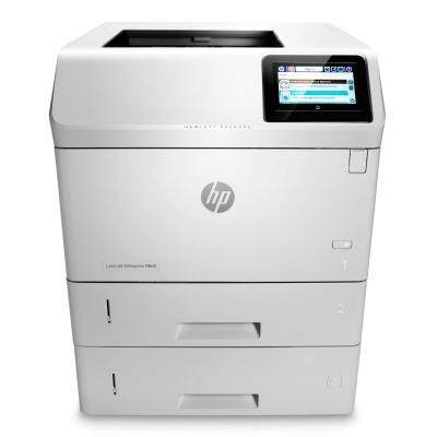 Hp laserprinter: LaserJet LaserJet Enterprise M605x - Zwart
