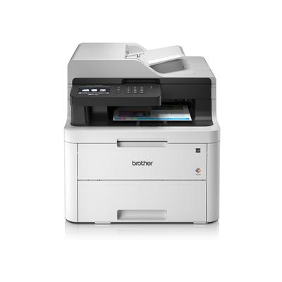 Brother multifunctional: Stil en efficiënt printen, kopiëren, scannen en faxen voor thuis of het kantoor - Zwart, Wit