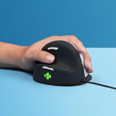 R-Go Tools R-Go HE Break Mouse, Ergonomische, Anti-RSI software, Groot (Handlengte boven 185mm), Linkshandig, .....