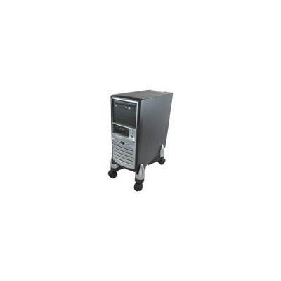 Fellowes burea accessoire: Standaard CPU/papiervernietiger - Zwart, Zilver