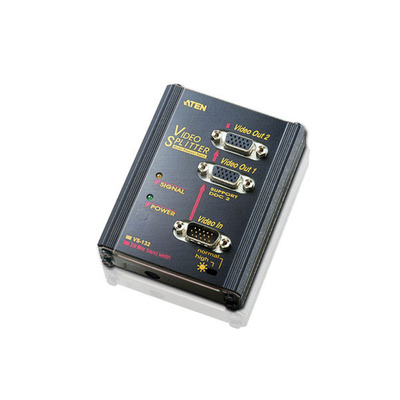 Aten video splitter: 2 Port Video Splitter, 350MHZ