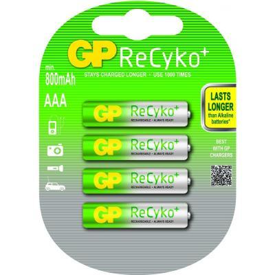 Gp batteries batterij: ReCyko+ AAA - Multi kleuren
