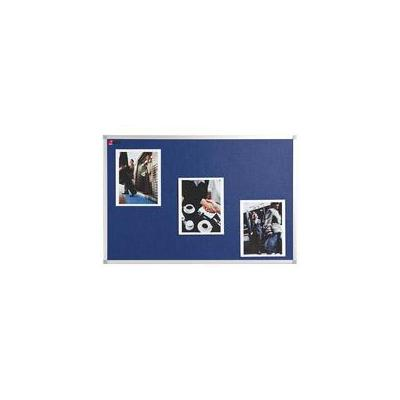 Nobo prikbord: TEXTIELBORD ELIPSE 90X120 BLAU - Blauw
