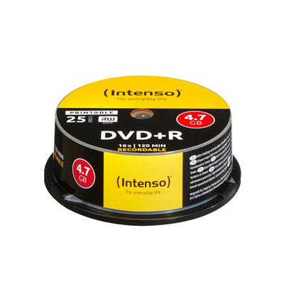 Intenso DVD+R 4.7GB, Printable, 16x DVD