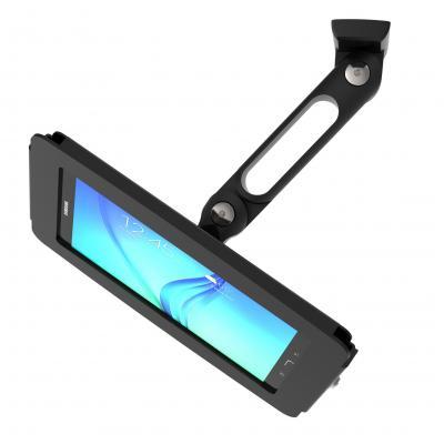 Compulocks : Galaxy Tab A Space Enclosure Swing Arm, Galaxy Tab A 9.7, Black - Zwart