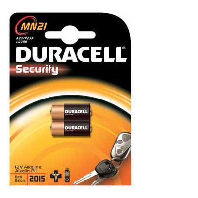 Duracell batterij: MN21 12V 23A BLIST 2X