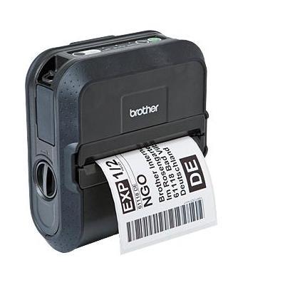 Brother pos bonprinter: RJ-4030 - Mobiele labelprinter voor RD-M labels en rollen van 51 tot 118 mm - Bluetooth - .....