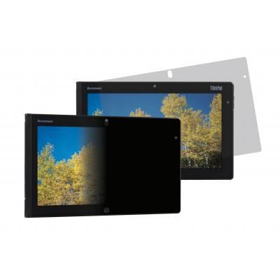 Lenovo schermfilter: 3M ThinkPad Tablet 2 Privacy Filter - Landscape Orientation