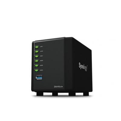 Synology NAS: DiskStation Marvell Armada 385 88F6820 Dual Core 1.0GHz, 512MB DDR3, USB 3.0, RJ-45, 120 mm x 105 mm x .....