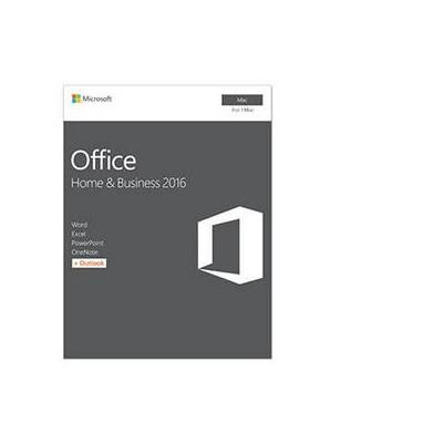 Microsoft Office Home & Business 2016 for Mac FR Software suite