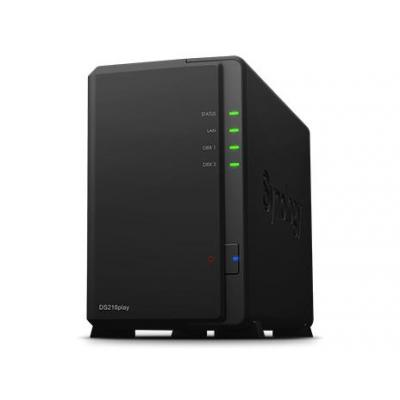 Synology NAS: DiskStation DS216play - Zwart