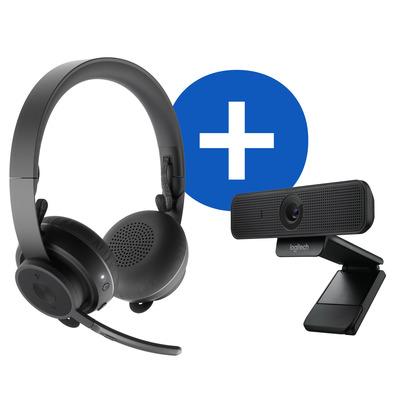 Logitech Personal Video Collaboration Kit Videoconferentie systeem - Zwart