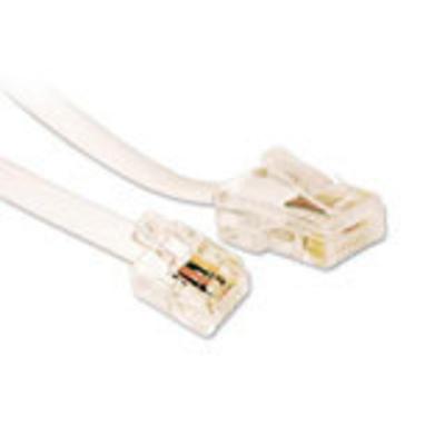 Microconnect MPK453 Telefoon kabel - Wit