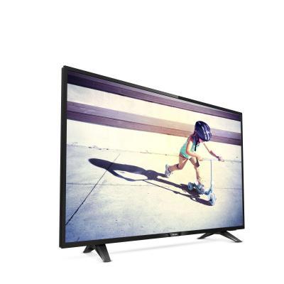 Philips led-tv: 4100 series Ultraslanke Full HD LED-TV 43PFS4132/12 - Zwart