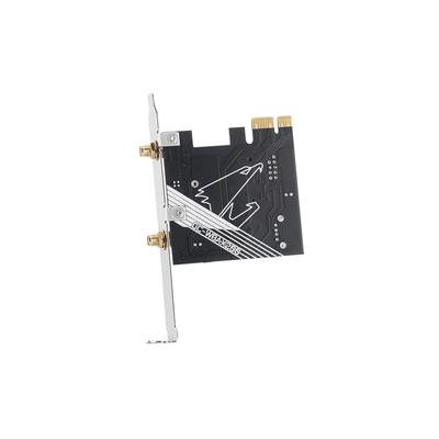 QNAP Wi-Fi, PCIe x1 2.0, 2.4G, 5GHz, 2T x 2R Netwerkkaart