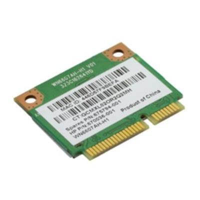 Hewlett Packard Enterprise WiFi Adapter 802.11 b/g/n 1x1 Notebook reserve-onderdeel - Groen