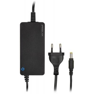 Speed-link netvoeding: PECOS UNIVERSAL 90W Notebook Power Adapter, zwart
