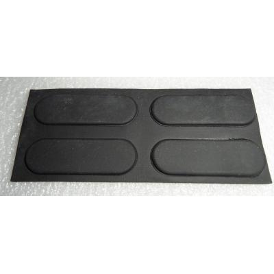 Hp Computerkast onderdeel: Chassis Foot Four Oval Shaped Rubber Adhesive Backed Pads for Business Desktop DC7100 Ultra .....