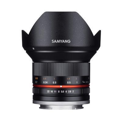 Samyang 12mm F2.0 NCS CS Camera lens - Zwart