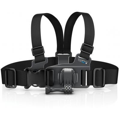 Gopro camera-ophangaccessoire: Junior Chesty (Chest Harness) - Zwart