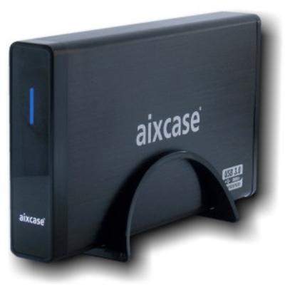 Aixcase AIX-BL35SU3 Behuizing - Zwart