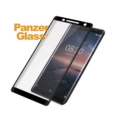PanzerGlass Nokia 8 Sirocco Curved Edges Screen protector - Transparant