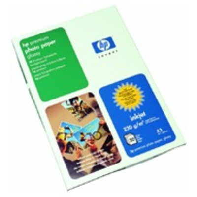 HP Premium glanzend, 240 gr/m², A3, 20 vel Fotopapier