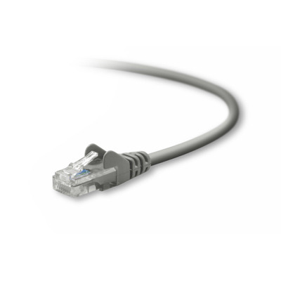 Belkin UTP CAT5e 10 m Netwerkkabel - Grijs