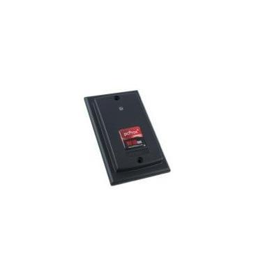 Rf ideas smart kaart lezer: pcProx Plus Enroll Wall Mount IP67 Black USB Reader - Zwart
