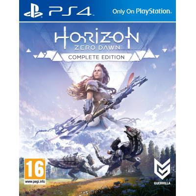 Sony game: Horizon: Zero Dawn (Complete Edition)  PS4