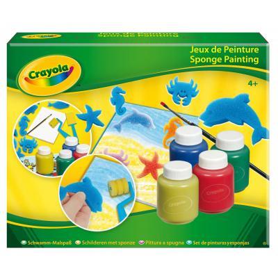 Crayola : knutselpakket - Schilderen met spons - Veelkleurig