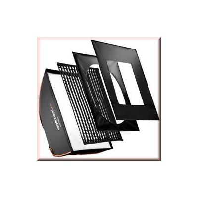Walimex softbox: pro Softbox PLUS OL 60x90cm Balcar - Zwart, Wit