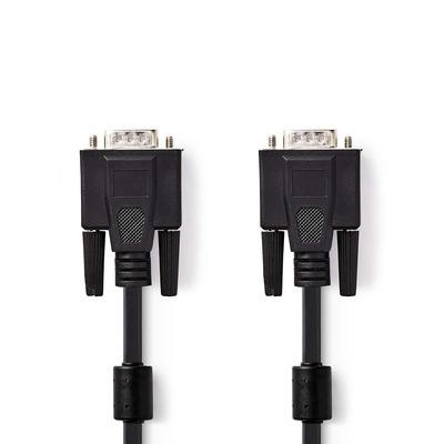 Nedis CCGB59000BK50 VGA kabel  - Zwart