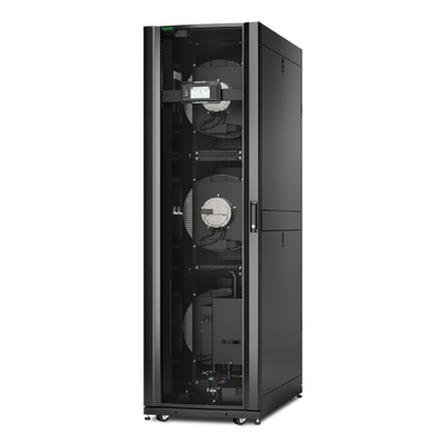 APC 42U, InRow RC, 600mm, Chilled Water 380-415V 50/60 Hz, w/ humidifier Cooling accessoire - Zwart