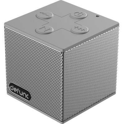 Defunc computerspeaker: BT Travel Speaker S - Silverish