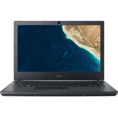 "Acer laptop: TravelMate P2 TMP2410-G2-M-823M - 14"" i7 8GB RAM 256GB SSD + 1TB HDD - W10 Pro - Zwart, QWERTY"